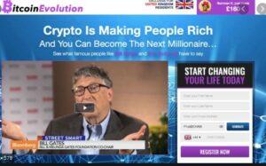bitcoin evolution homepage