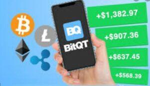 bitqt app homepage