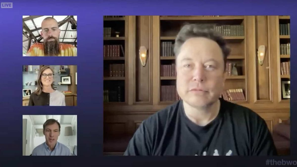 Elon Musk reveals that SpaceX bought bitcoin