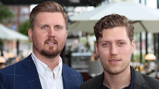 Jonas Lundqvist and Mathias Winberg, founders of Offertway.