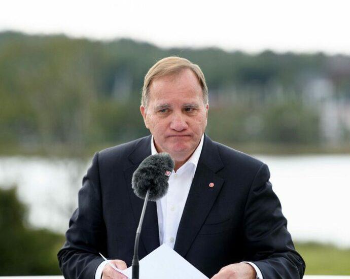 Löfven's resignation announcement shocks S
