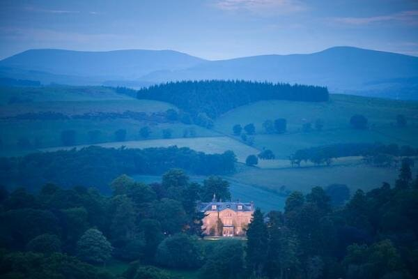 Craig Castle is on the Scottish border, 25 miles from Edinburgh. (Photo: Disclosure/Castle Craig)